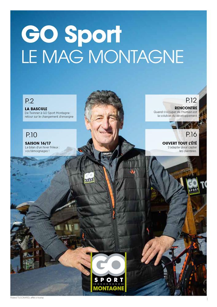 GO Sport - Magazine Montagne n°1 - Une-V2