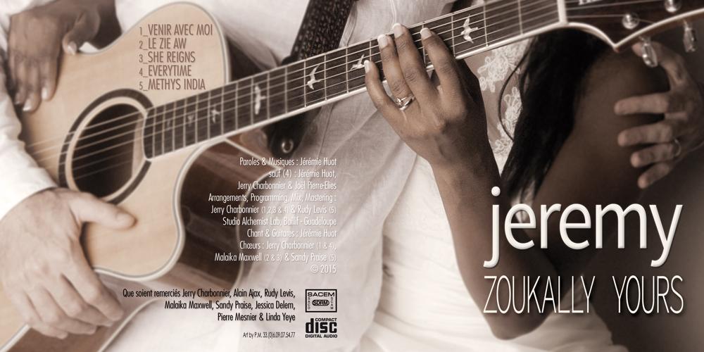 Visuel Full EP Zoukally Yours - Jeremy