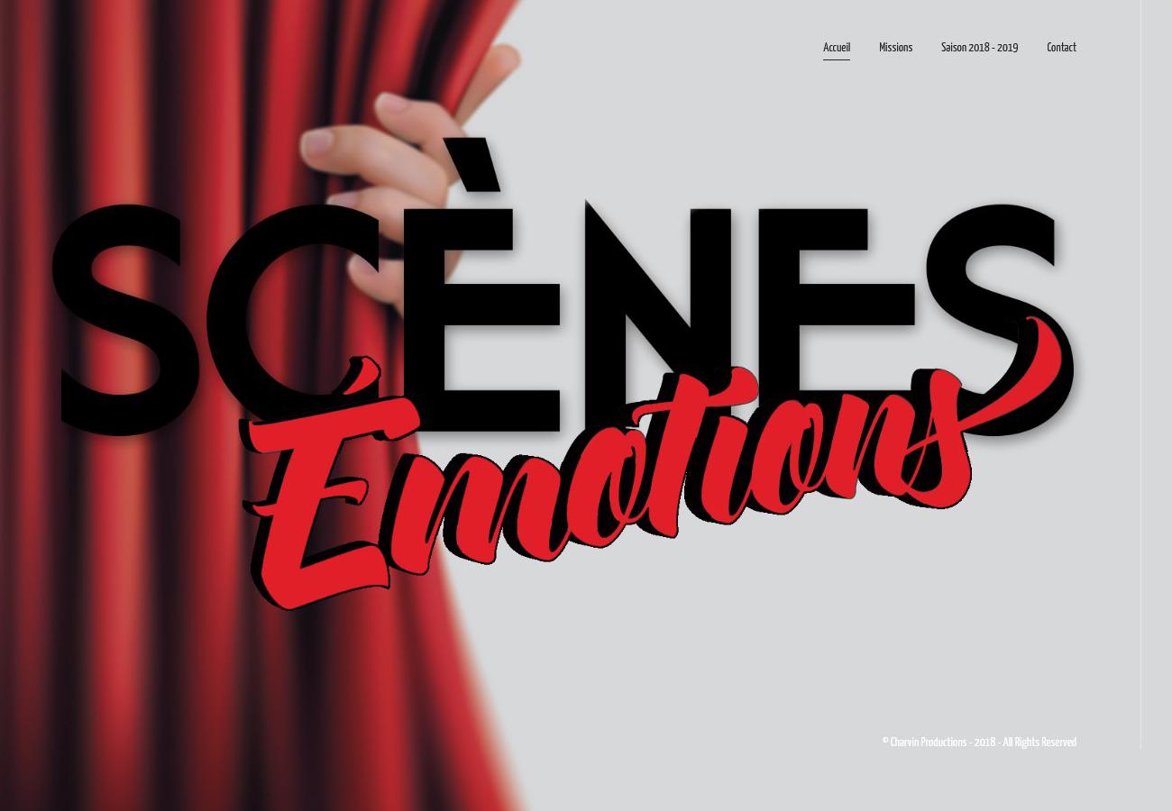Scènes Émotions - Site Internet Version 2018
