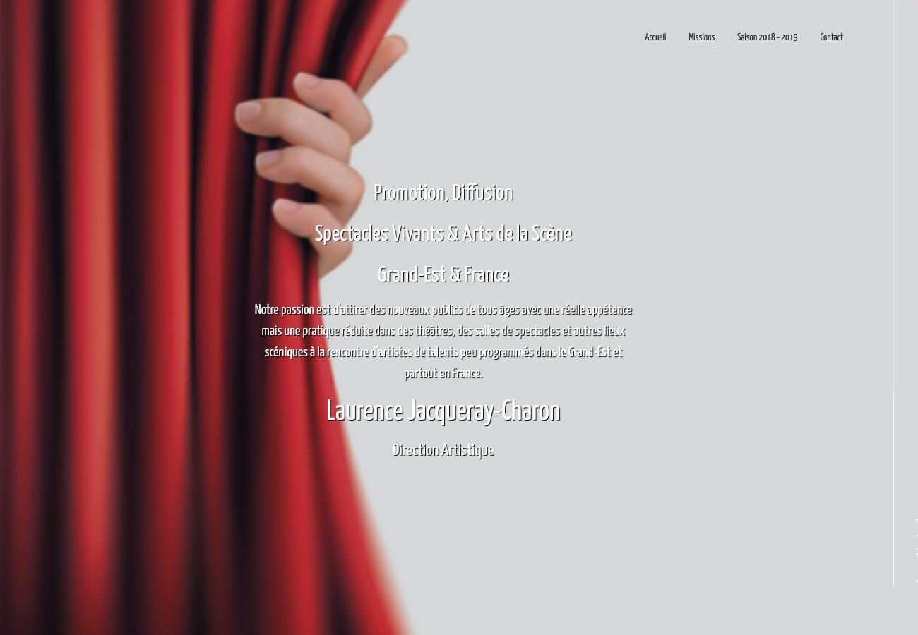 Scènes Émotions - Site Internet Version 2018 - Page Qui Sommes Nous
